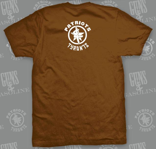 1st Amendment Area T-Shirt   Back