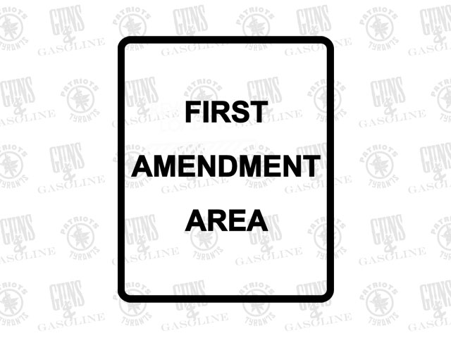 1st Amendment Area