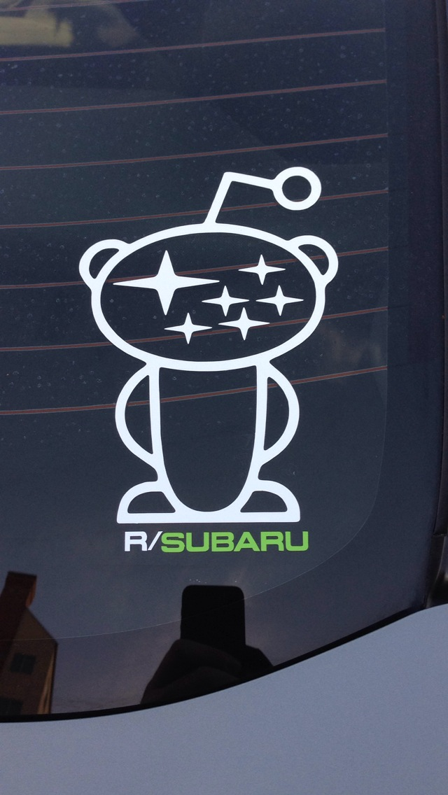 Photo: Guns & Gasoline /r/Subaru sticker